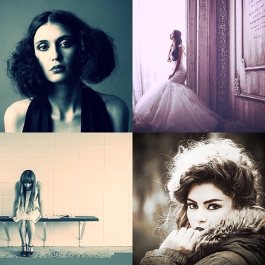 create 10 GORGEOUS Instagram images for you