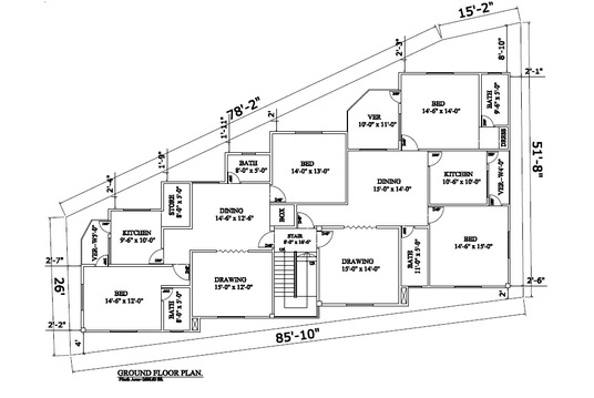 I will redraw floor plan for Real Estate agents, Property Manager, etc