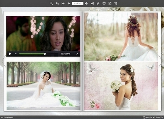 I will design a Digital Album from your photos and videos