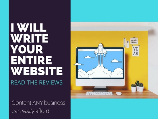 I will write your entire website content