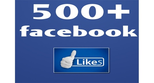 I will add 550 + permanent Facebook likes