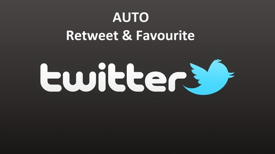 I will +25 Auto Retweets & Favourites 1 month Unlimited Post