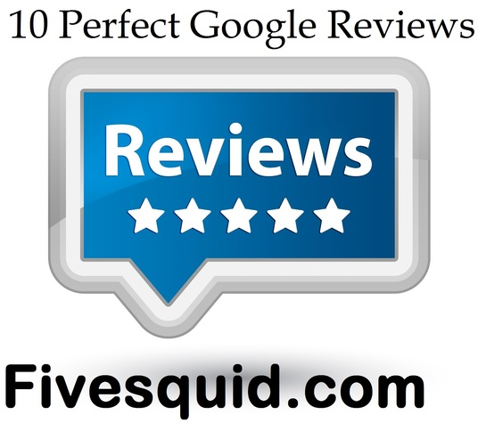 I will write 10 Excellent Google Reviews