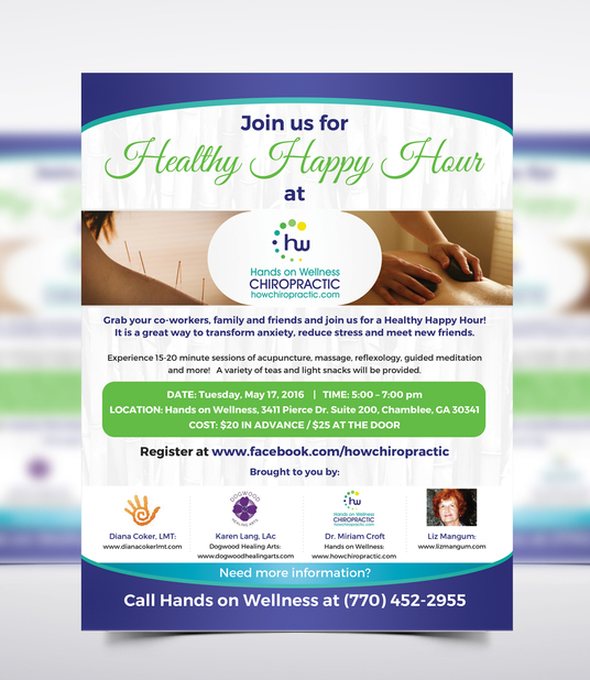 I will design eye catching spa or salon flyer or poster or brochure in 24 hours