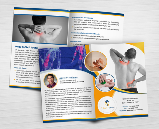 I will design healthcare brochure or flyer in 24 hours