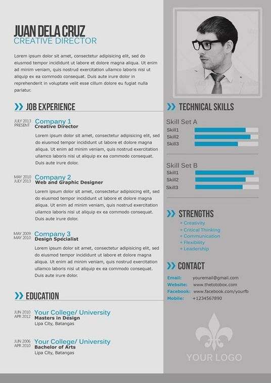 I will create a modern contemporary style cv that will make you stand out