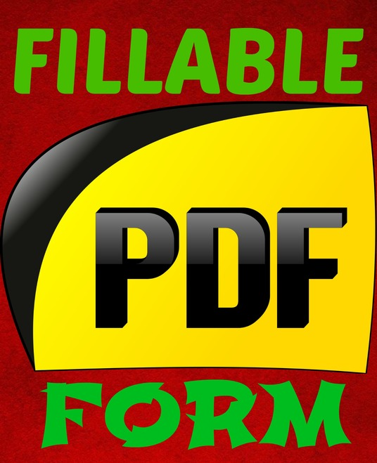 I will create savable, interactive, FILLABLE pdf forms