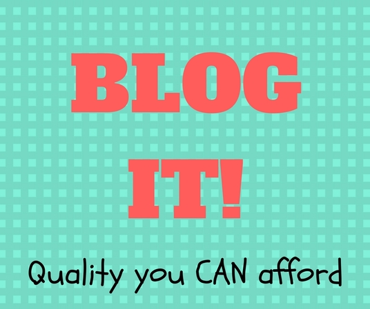 I will write 4 blog posts of 400 words each *SPECIAL OFFER*