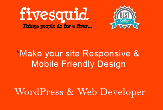 I will create your site responsive and mobile friendly