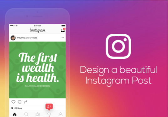 I will design a beautiful Instagram post image
