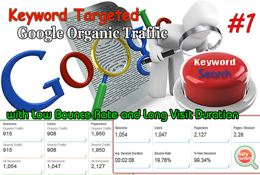 I will Deliver 200000+ USA, UK KEYWORD targeted traffic for 30 days