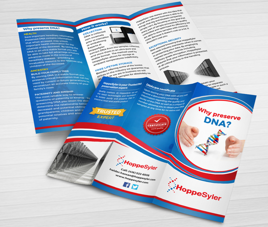 I will design Professional A4 or Letter size TRIFOLD or BI-FOLD brochure in 48 hours