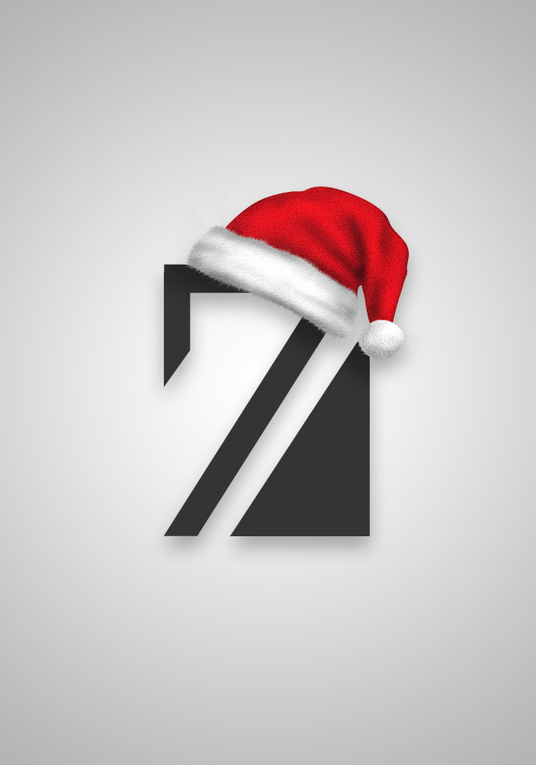 I will give your logo a Christmas theme!