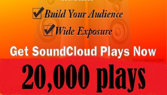 I will Drive 20,000 real high quality Sound cloud plays to your soundcloud
