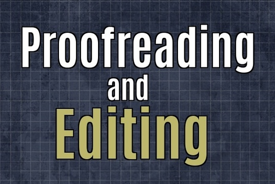 I will meticulously proofread and edit up to 2500 words