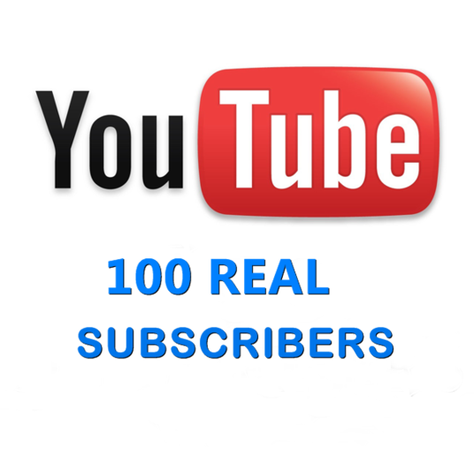 I will give 100 real youtube subscribers