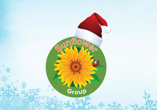 put a santa hat on your logo for the festive season