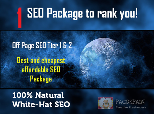 I will rank you with this SEO Package