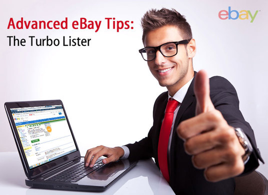 I will list your products on eBay using eBay TurboLister
