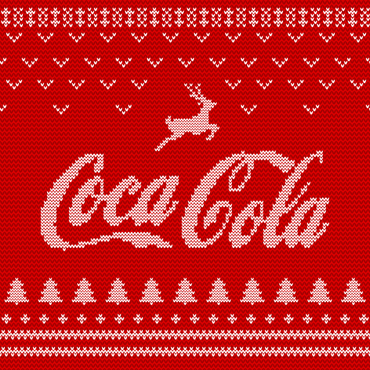 I will make your logo look like a Christmas Sweater - Perfect for company profile picture