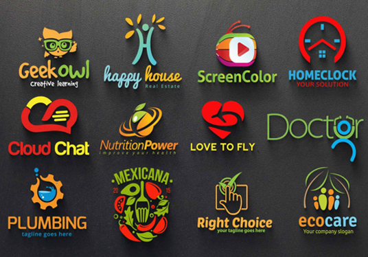 I will design 3 CREATIVE logo in, 24 hours