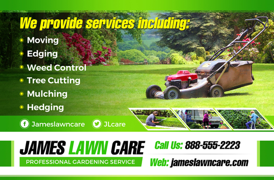 I will design professional gardening or landscaping service designs in 24 hours