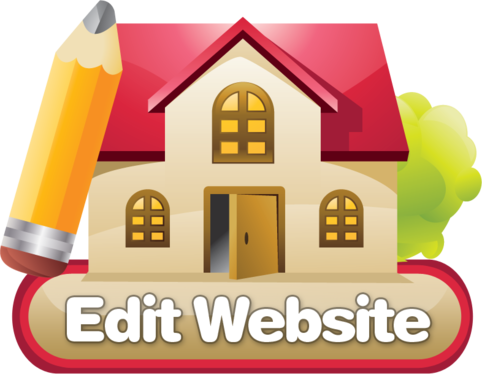 edit, content upload or change in your website