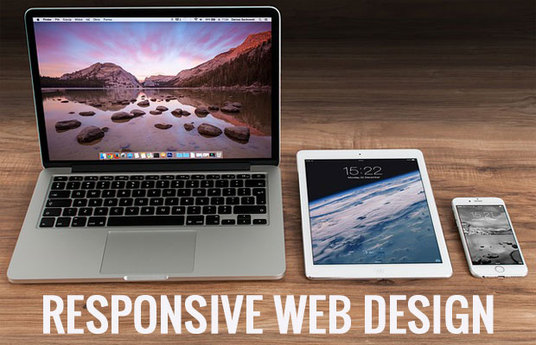 I will  create a responsive web design