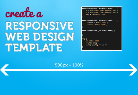 create a responsive web design