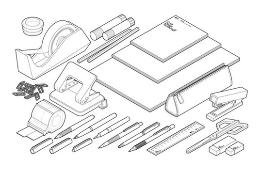 I will create a detailed VECTOR line art or outline of anything
