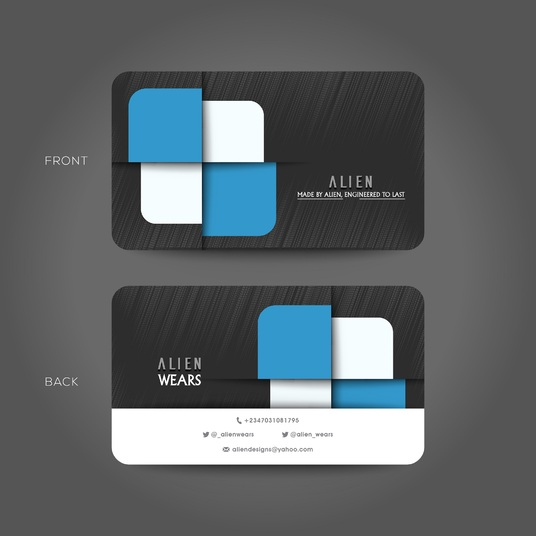 I will design a PROFESSIONAL 2-Sided Business card