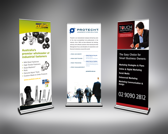 I will design ROLLER or Roll-UP Banner
