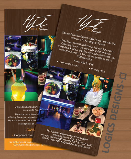 I will Design Great Looking Flyer Leaflet
