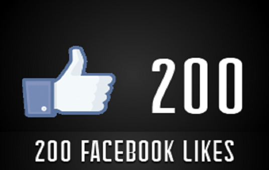 I will  add 200 Real Human FB Likes to Your Pic or Status