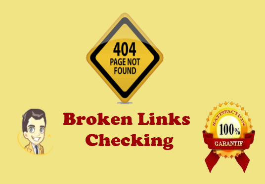 I will check your webpage quickly finds all the broken links