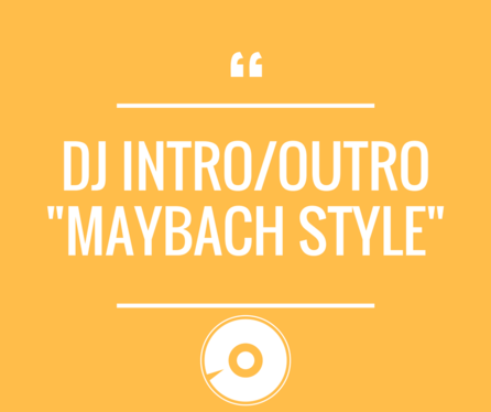 create conversational style DJ intro or outro with British, London voices