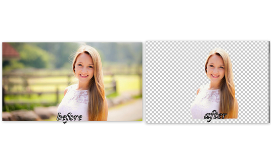 I will remove BACKGROUND 20 Photos for you