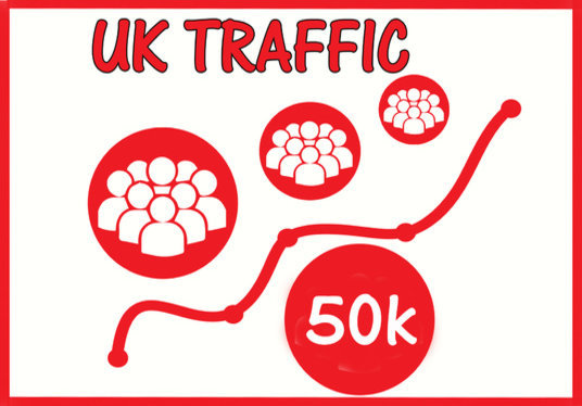 I will Give you FAST 50,000 UK Website Traffic Limited offer