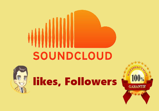 I will Get You 100 SoundCloud likes + 100 Followers Choice Your Or 200 SCloud Likes Or 200 Follow