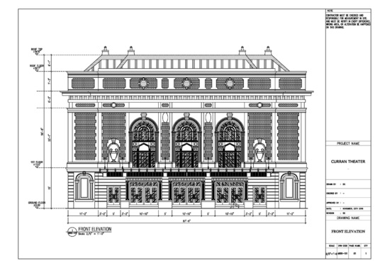 I will draw Elevation Architectural drawing with AutoCAD