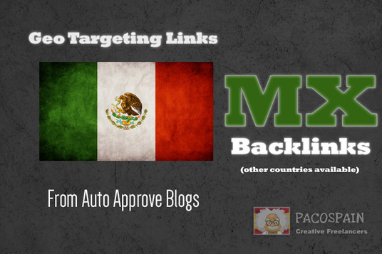 I will create 150 backlinks on Mexican MX blogs