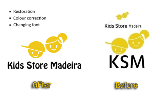 I will restore, redesign or vectorize your graphic perfectly
