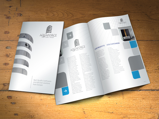 I will Design Brochure