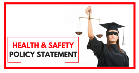I will provide a Health and Safety Policy Statement template complaint with the Health &