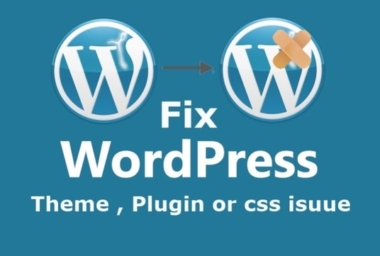 I will fix any wordpress problems