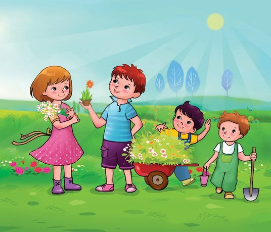 I will draw Childrens Book illustrations for you
