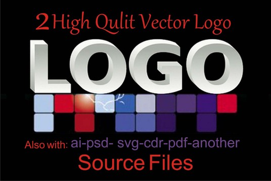 I will design 2 high quality professional vector logo only