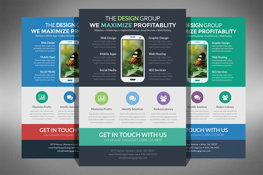 I will design flyer for you