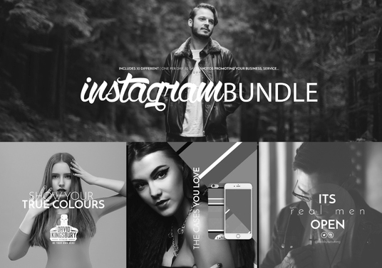 I will  design a  instagram premium bundle photos to promote your business