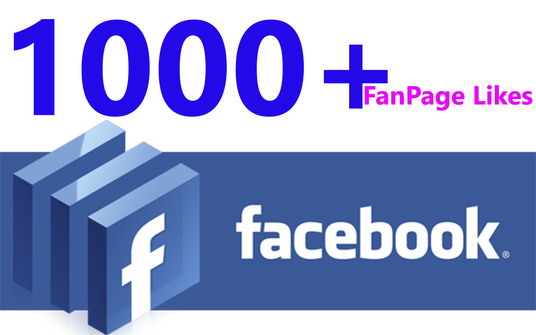 I will  1000+ Facebook Page Likes - Promotion Service